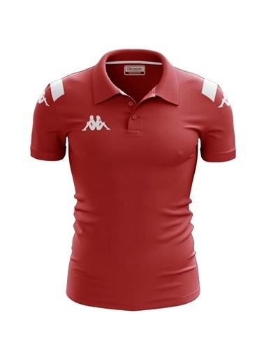 Kappa Player Kamp Polo T-Shirt Abıang4 4Team  Kırmızı